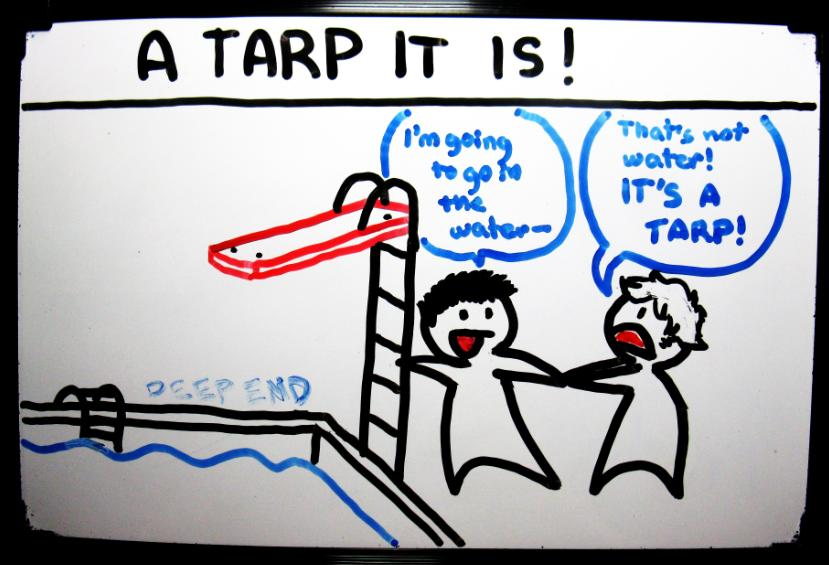 A Tarp it is!
