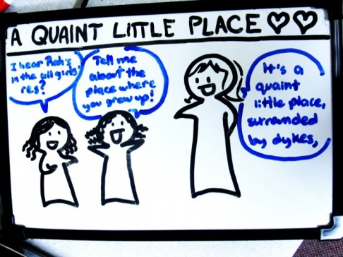 A Quaint Little Place