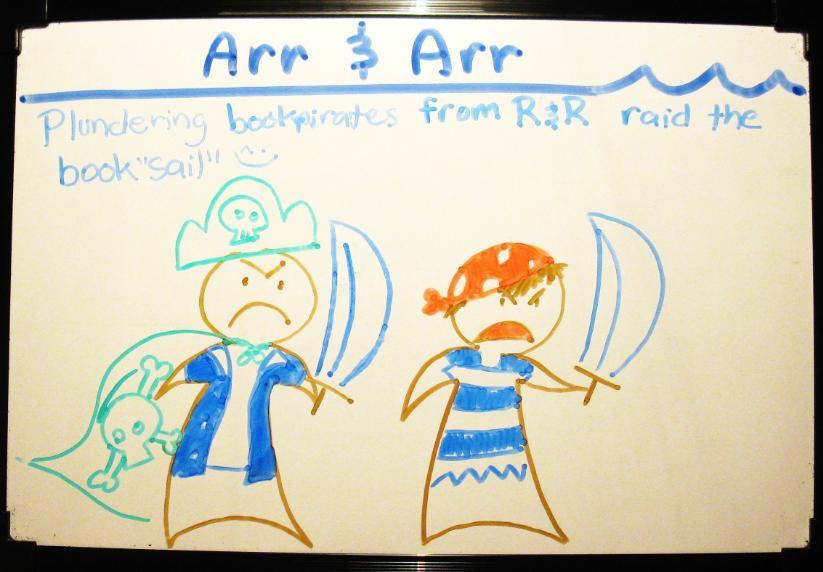 Bonus comic: Arr & Arr